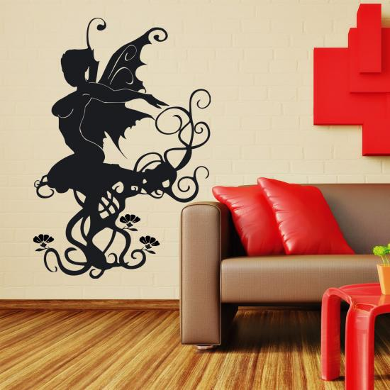 wandtattoo sunnyfee einzigartig elegante fee elfe sunnywall online shop. Black Bedroom Furniture Sets. Home Design Ideas