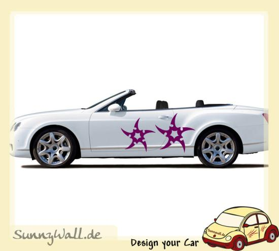 autotattoo sterne f r ihr car design sunnywall online shop. Black Bedroom Furniture Sets. Home Design Ideas