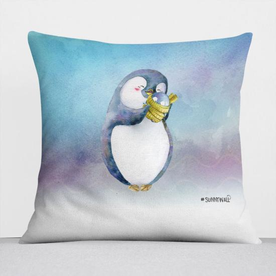 Pinguin Nigel Kissen pillow Sunnywall® Baby
