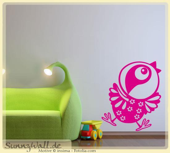 wandtattoo wandaufkleber vogel kinderwelt sunnywall online shop. Black Bedroom Furniture Sets. Home Design Ideas