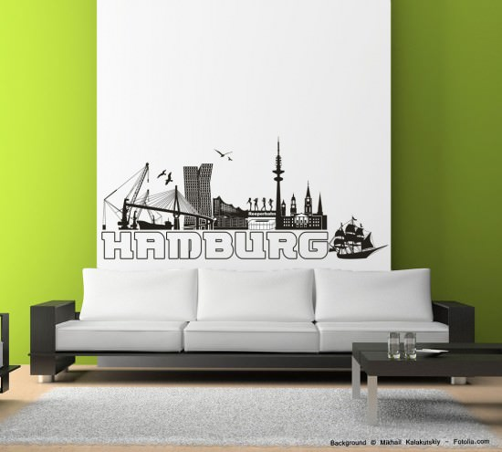 754 Hamburg Skyline