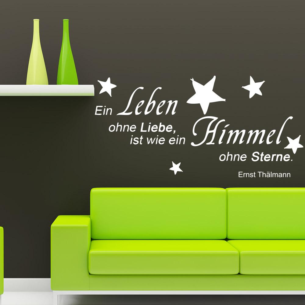 Zitat als Wandtattoo von Ernst Thälmann | Sunnywall®