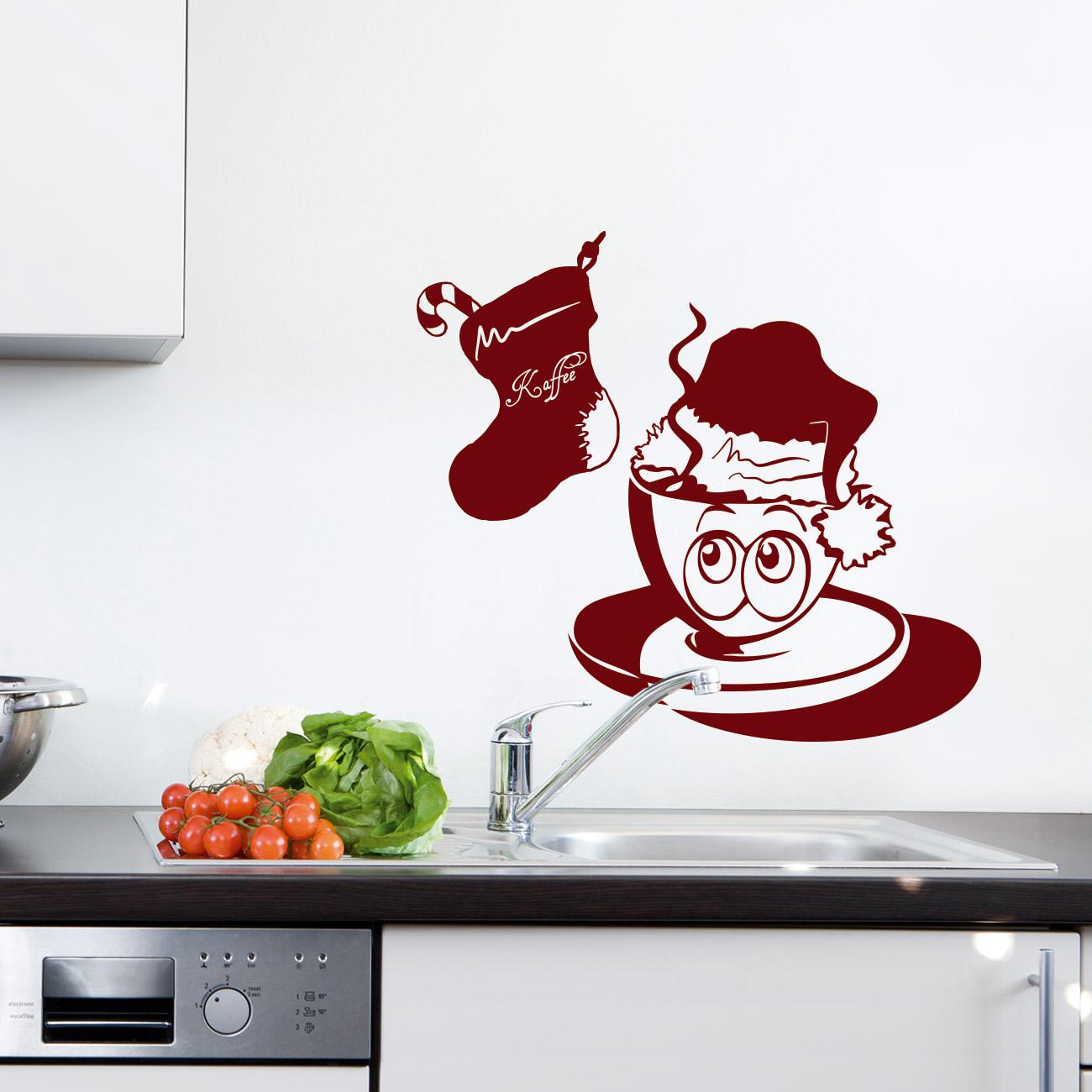 Ted Kaffeetasse - Weihnachten mit Stiefel | Sunnywall Online-Shop