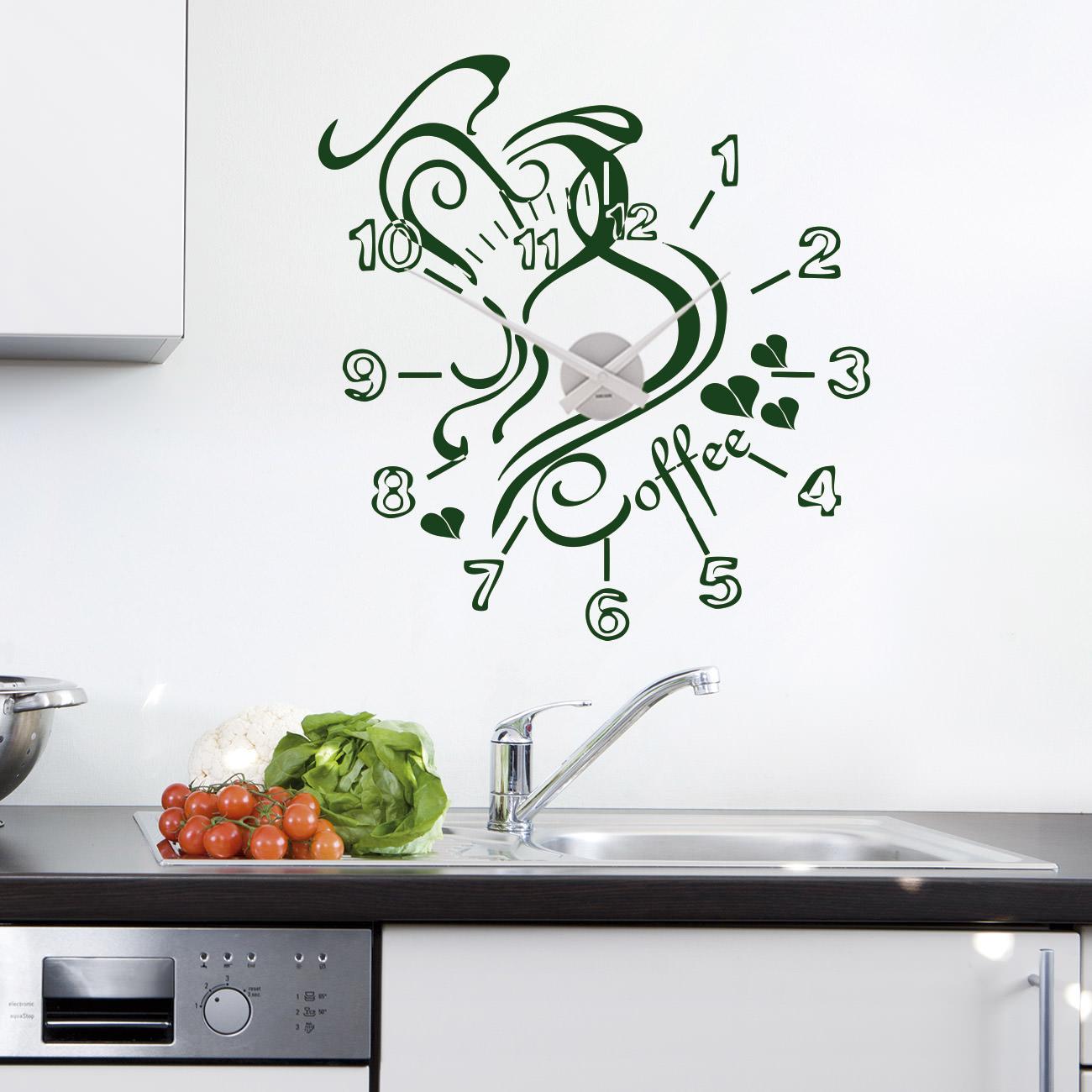 Wandtattoo Coffeetime für Küche | Sunnywall Online-Shop