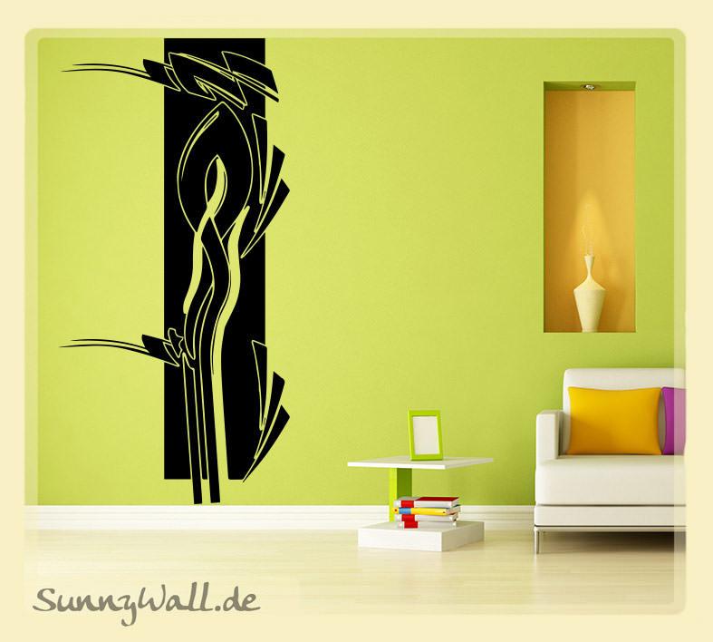 Wandtattoo Abstrakt Modern Leben | Sunnywall Online-Shop