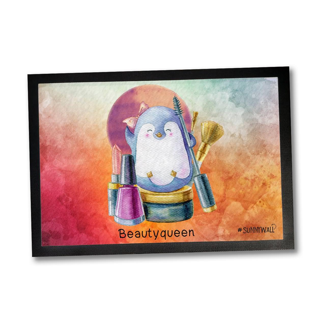 35 X 50 Fussmatte Pinguin Familie Nigel Beautyqueen Sunnywall