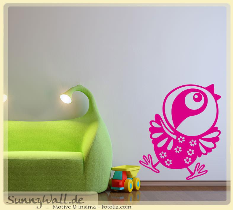 Wandtattoo wandaufkleber vogel kinderwelt sunnywall online shop - Vogel wandtattoo ...