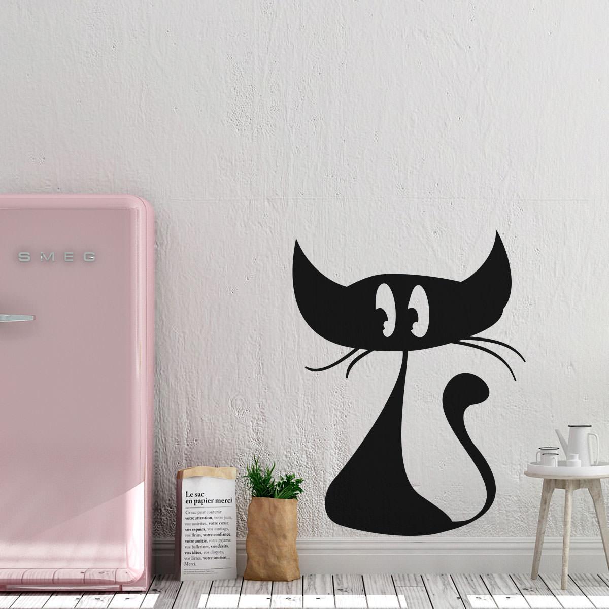 Schön Wandtattoo Katzen Referenz Von 810-wandtattoo-wandaufkleber-katze-cat-1.jpg