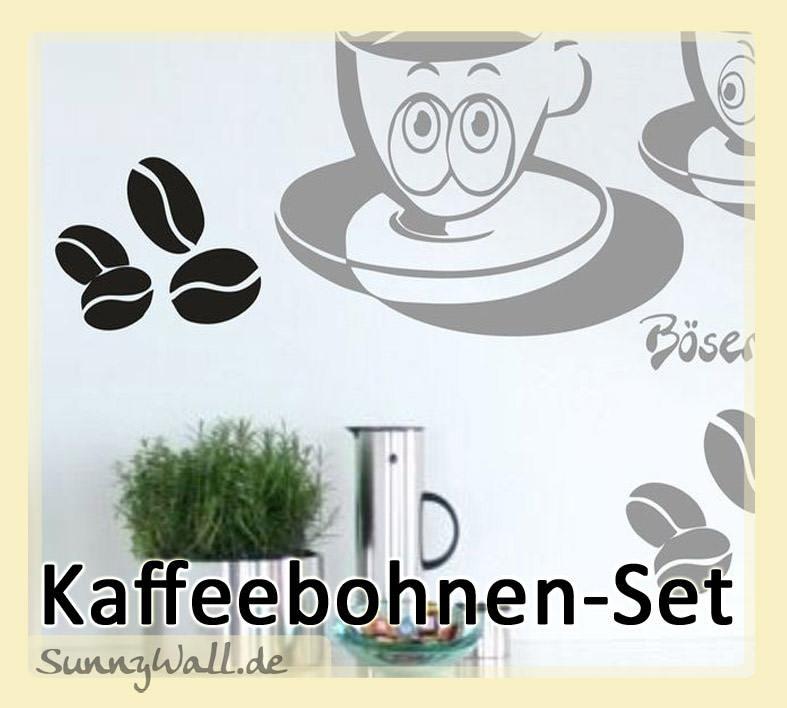 wandtattoo shop kaffeebohnen f r wohnzimmer k che wandtattoo. Black Bedroom Furniture Sets. Home Design Ideas