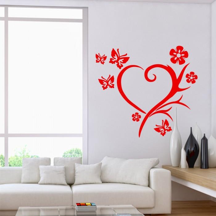 Wandtattoo Das Leben ist bezaubernd Nr 2 Wand Tattoos Wandsticker Wohnzimmer