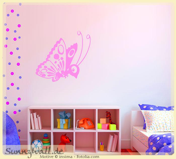 wandtattoo wandaufkleber schmetterling butterfly sunnywall online shop. Black Bedroom Furniture Sets. Home Design Ideas
