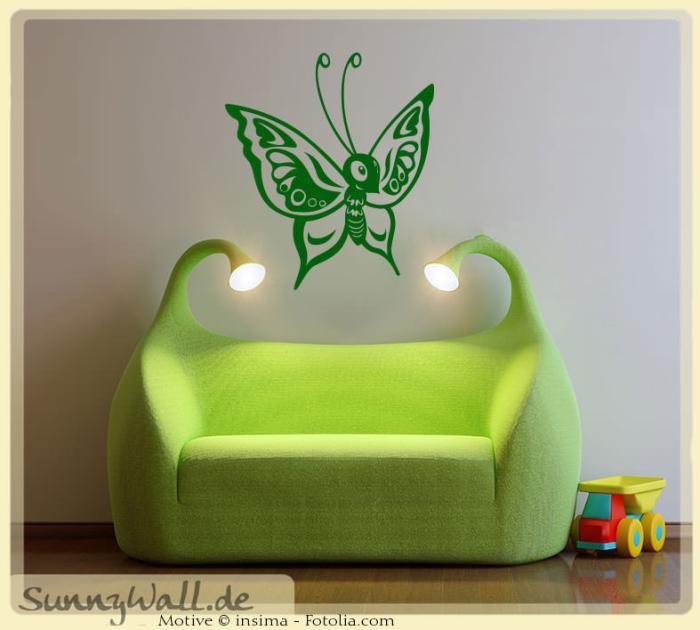 wandtattoo wandaufkleber schmetterling kinderwelt. Black Bedroom Furniture Sets. Home Design Ideas