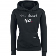 Statements Feminin Sweatshirt Hoodie Ladies - how about no